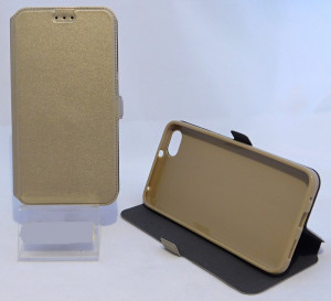 Pouzdro Book Flexi Pocket Huawei Honor 4X Zlaté