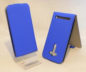 Pouzdro Forcell Slim Flip flexi Asus Zenfone 2 Laser ZE550KL 5.5 Tmavě Modré