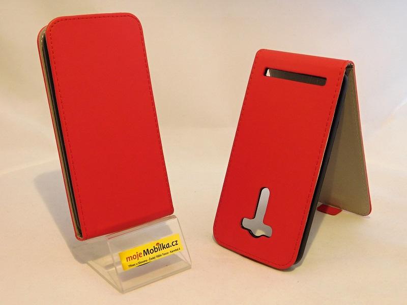 Pouzdro Forcell Slim Flip Flexi Asus Zenfone 2 Laser ZE550KL 5.5 Červené