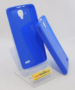 Puzdro Jelly Case pre Lenovo A536 Modré