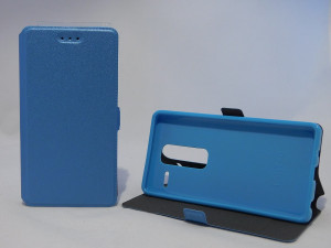 LG Zero / H650e - Puzdro Telone BOOK - Modré