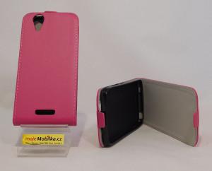 Pouzdro Forcell Flexi Slim Acer Z630 Růžové