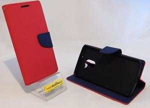 Puzdro TEL1 Fancy Diary Lenovo A7010 Červené