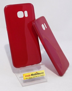 Pouzdro Jelly Case pro Samsung Galaxy S7 Edge G935 Bordo