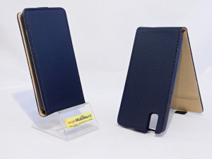 Puzdro ForCell Slim Flip Huawei Honor 8 Flexi Černé
