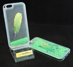 Puzdro Fun Design Iphone 6 Zelené
