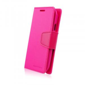 Pouzdro Sonata Goospery Leather Flip Samsung Galaxy S5 Mini G800 Růžové