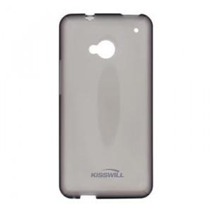 Pouzdro Kisswill TPU Microsoft Lumia 435 Černé