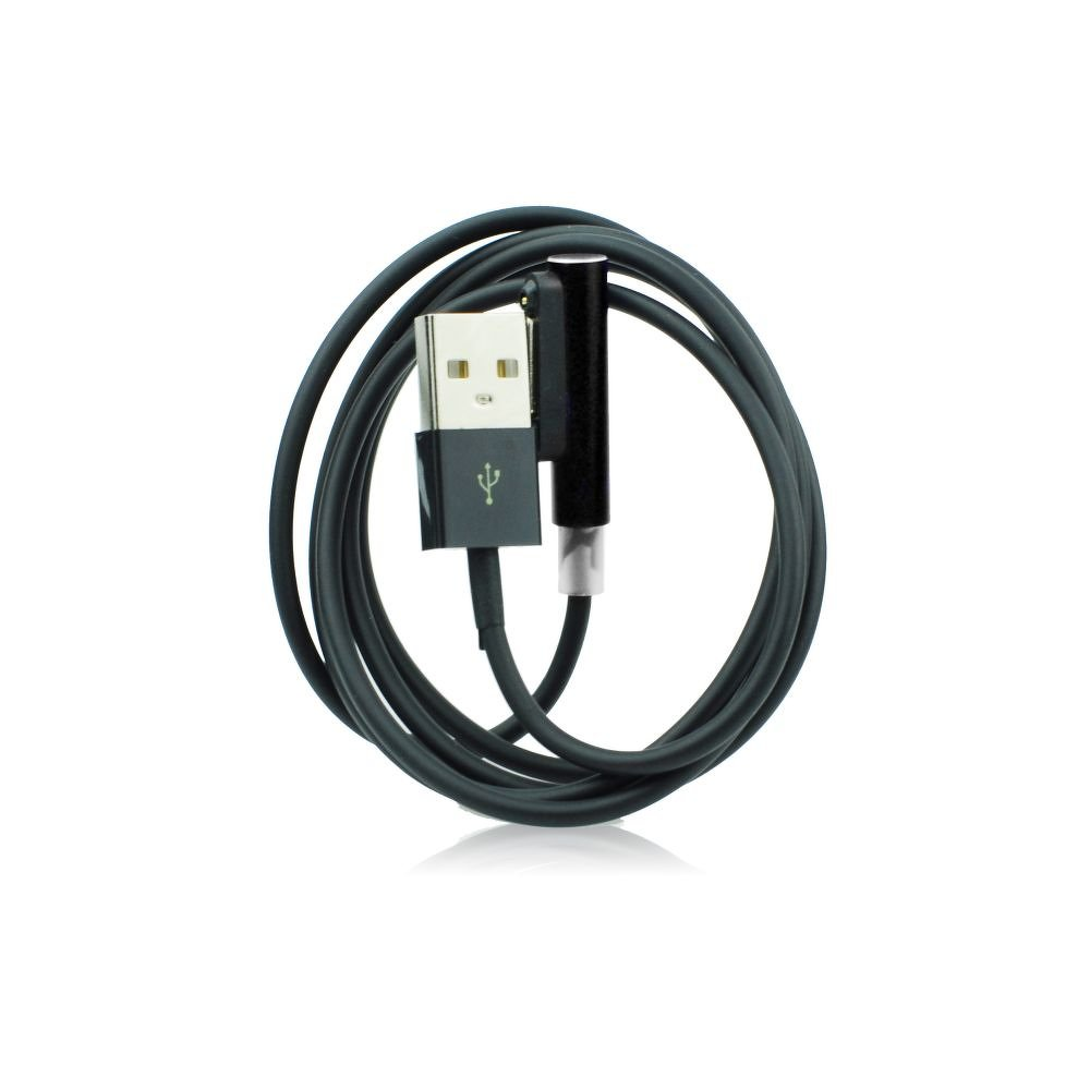 USB Nabíjecí kabel - pro Sony magnetický konektor EC21 s indikací nabíjení - Černý