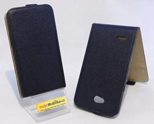 Pouzdro Forcell Slim Flip Flexi LG L80 D373 Černé