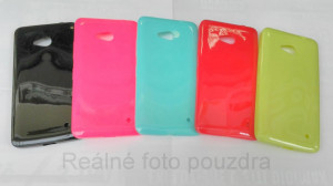 Candy Case Ultra Slim Microsoft Lumia 640 Černé