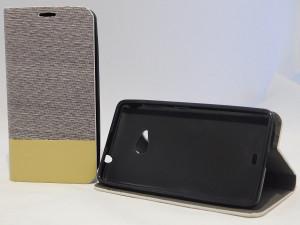 Pouzdro Wallet Cobalt Microsoft Lumia 535 Grey