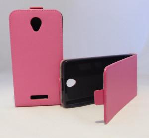 Puzdro Forcell Slim Flip 2 flexi Lenovo A5000 Růžové