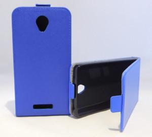 Pouzdro Forcell Slim Flip 2 flexi Lenovo A5000 Tmavě Modré