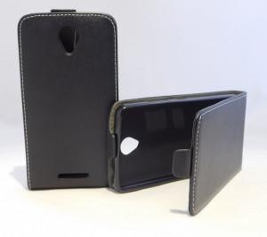 Puzdro Forcell Slim Flip Flexi Lenovo A5000 Černé