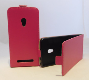 Pouzdro Forcell Slim Flip 2 flexi Asus ZenFone 5 Růžové