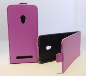Pouzdro Forcell Slim Flip 2 flexi Asus ZenFone 5 Fialové