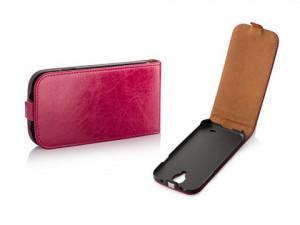 Pouzdro Toscana Elegance pro Sony Xperia M2 D2303 Pink