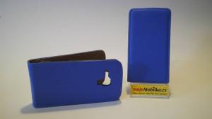 Pouzdro ForCell Slim Flip Nokia Lumia 530 Modré
