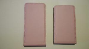 Pouzdro ForCell Slim Flip Samsung G900 Galaxy S5 Růžové