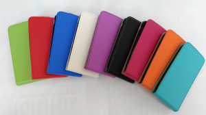 Pouzdro Forcell Slim flexi Sony Xperia E4 E2105 Tmavě modré