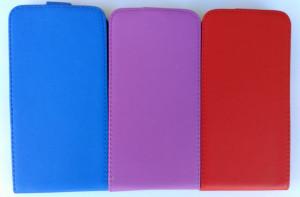 Puzdro Forcell Slim Flip Flexi Microsoft Lumia 640 XL Tmavě modré