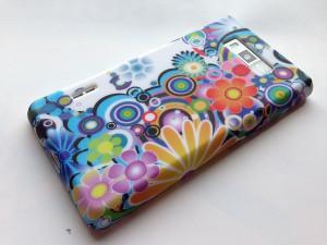 Pouzdro JELLY CASE Nokia Lumia 520 bílé s motivem
