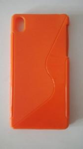 Silikónové puzdro S-Case pre Samsung Galaxy Core G350 Oranžové