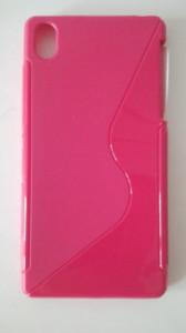 Silikonové pouzdro S-Case pro Nokia X Dual růžové