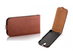 Pouzdro Toscana Elegance pro Sony Xperia Z3 D6603 Ginger
