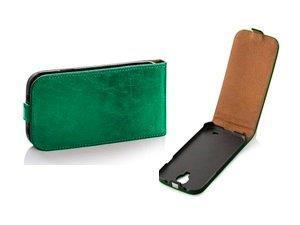 Pouzdro Toscana Elegance pro Sony Xperia M2 D2303 Green