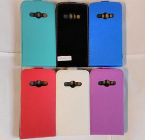 Pouzdro Forcell Slim Flip 2 flexi Samsung Galaxy Xcover 3 G388 Světle Modré