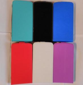 Pouzdro Forcell Slim Flip 2 flexi Samsung Galaxy Xcover 3 G388 Fialové