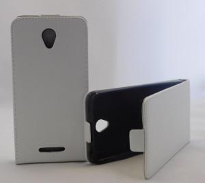 Puzdro Forcell Slim Flip 2 flexi Lenovo A5000 Bílé