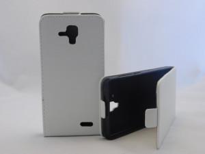 Pouzdro Forcell Slim Flip 2 flexi Lenovo A536 Bílé