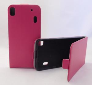 Puzdro Forcell Slim Flip 2 flexi Lenovo A7000 K3 Note Růžové