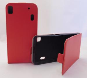 Puzdro Forcell Slim Flip 2 flexi Lenovo A7000 K3 Note Červené