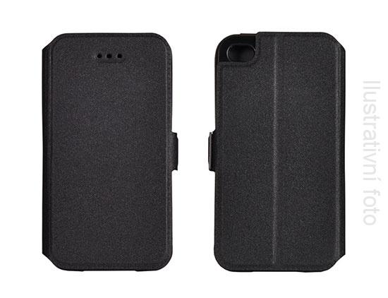 Pouzdro Book Flexi Pocket Huawei P8 Lite Černé