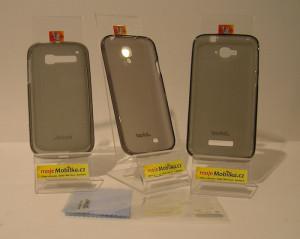 JEKOD TPU Ochranné Pouzdro Black pro Alcatel 4033D One Touch Pop C3