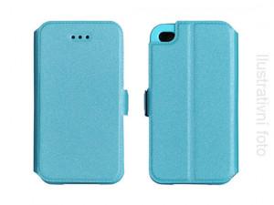 Pouzdro Book Flexi Pocket Sony Xperia M4 Aqua E2303 Modré
