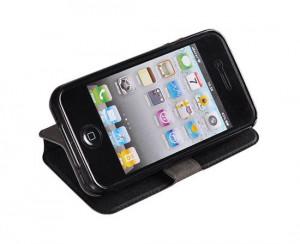 Pouzdro Book Flexi Pocket Samsung Galaxy Xcover 3 G388 Černé