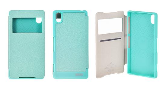 Pouzdro Mercury Wow Bumper View Case pro Samsung G900 Galaxy S5 Mátové