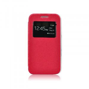 Pouzdro S-View Flexi Sony Xperia E4 E2105 Červené