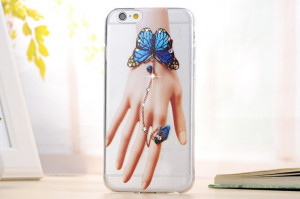 Pouzdro Clear Diamond Iphone 6 Ruka