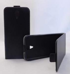 Puzdro ForCell Slim Flip Flexi HTC Desire 620 čierne