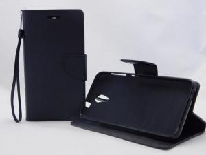 Pouzdro TEL1 Fancy Diary HTC Desire 620 Černé