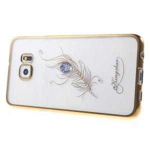 Pouzdro Diamonds TPU iPHONE 5 Peříčko