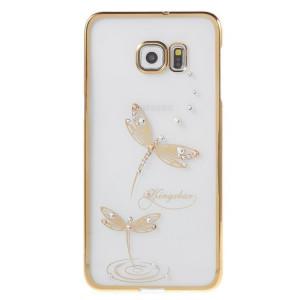 Pouzdro Diamonds TPU Samsung Galaxy S7 G930 Motýl