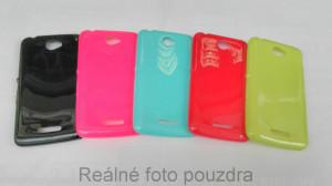Candy Case Ultra Slim Sony Xperia E4 E2105 Červené