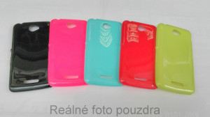 Candy Case Ultra Slim Sony Xperia E4 E2105 Limetka